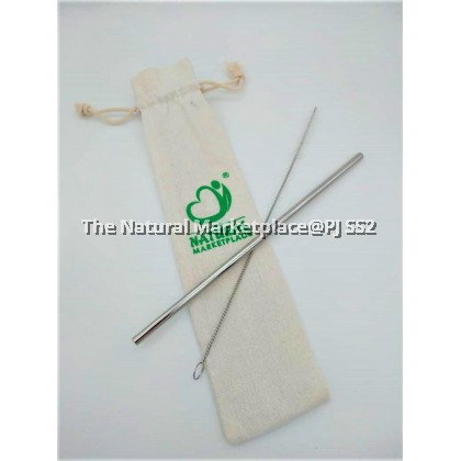 Metal Straw with Pouch
