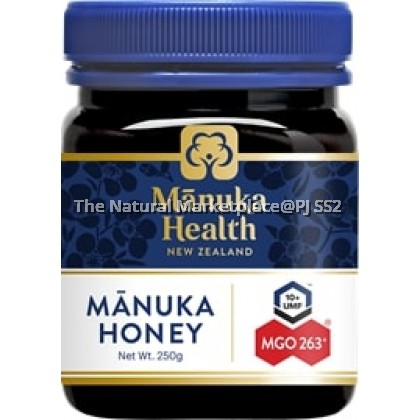 Manuka Honey MGO 263+ (UMF 10+) 250g