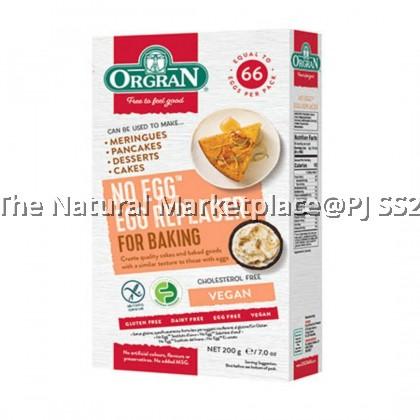 Orgran Gluten Free No Egg 200g