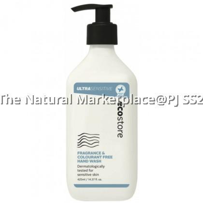 Ecostore Handwash Pump - Ultra Sensitive 425ml