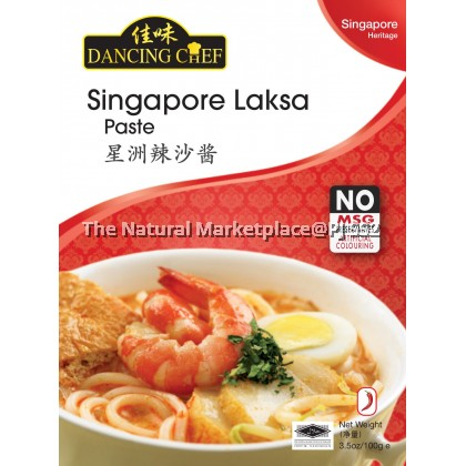 Dancing Chef Singapore Laksa Paste 100g
