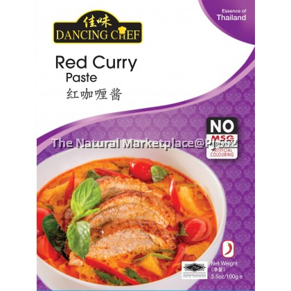 Dancing Chef Red Curry Paste 100g
