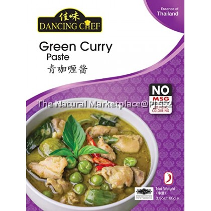 Dancing Chef Green Curry Paste 100g