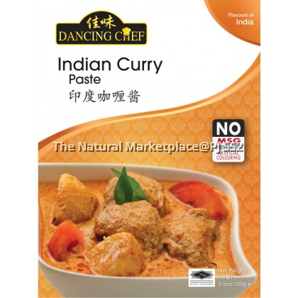 Dancing Chef Indian Curry Paste 100g
